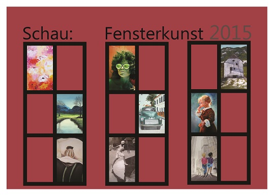 Flyer Schaufensterkunst KulturringErwitte2015